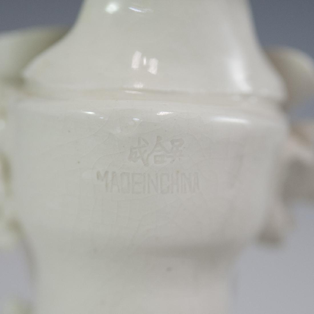 Chinese Blanc De Chine Guanyin Figurines - 3