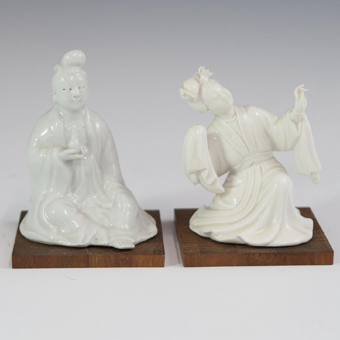 Chinese Blanc De Chine Figurines