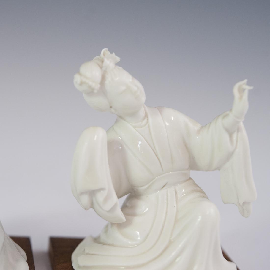 Chinese Blanc De Chine Figurines - 3