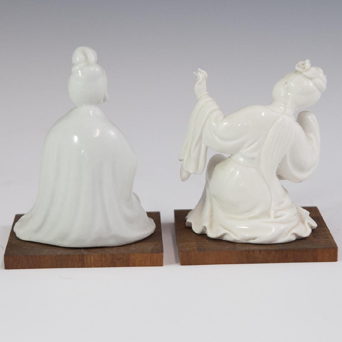 Chinese Blanc De Chine Figurines - 4