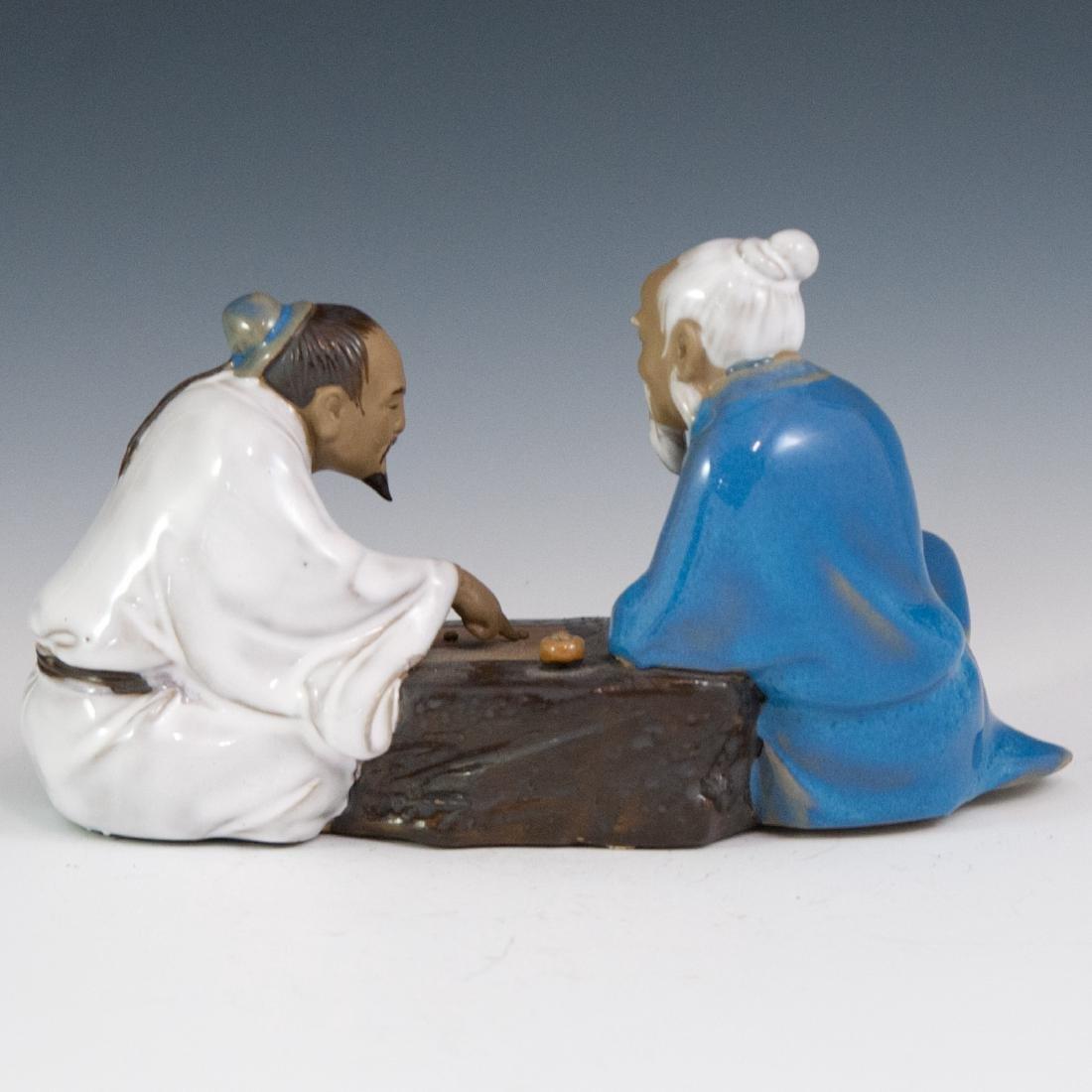 Chinese Mud Men Figurine - 2