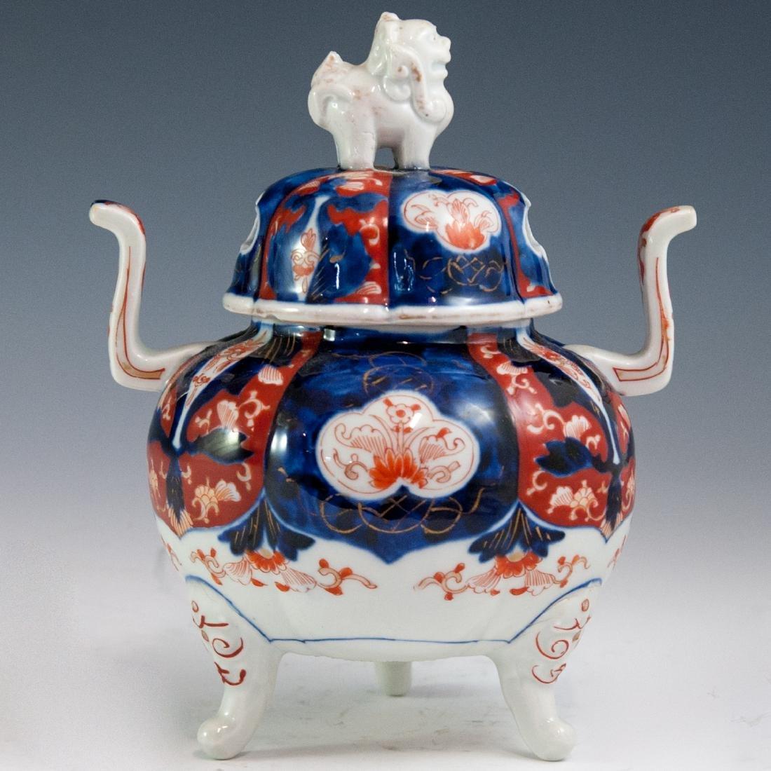 Japanese Imari Porcelain Koro Censer