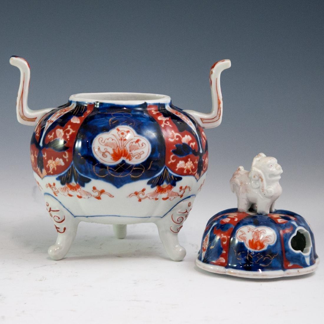Japanese Imari Porcelain Koro Censer - 2