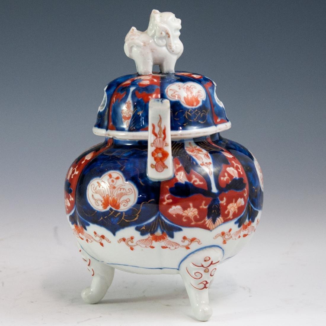 Japanese Imari Porcelain Koro Censer - 3