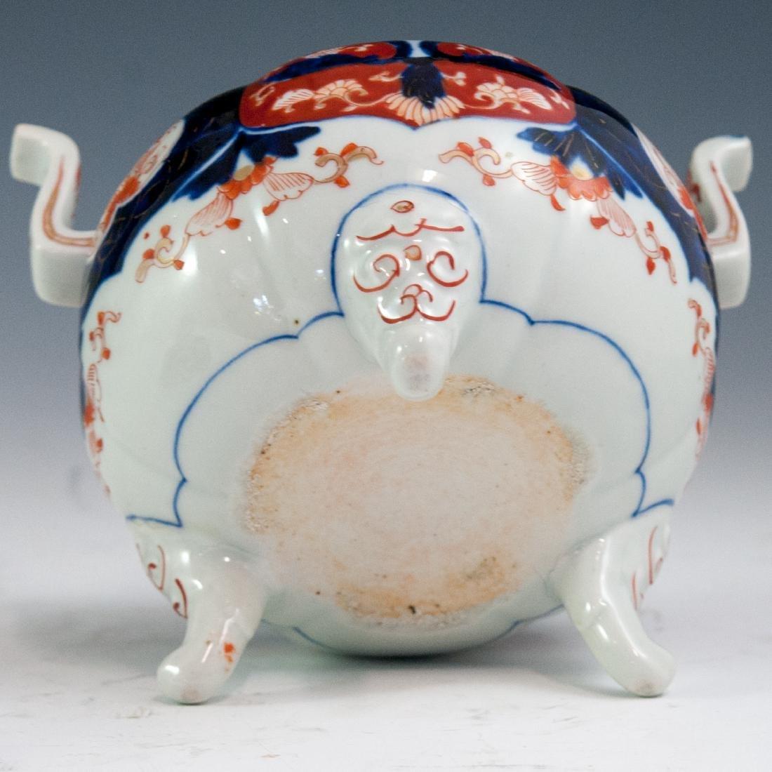Japanese Imari Porcelain Koro Censer - 4