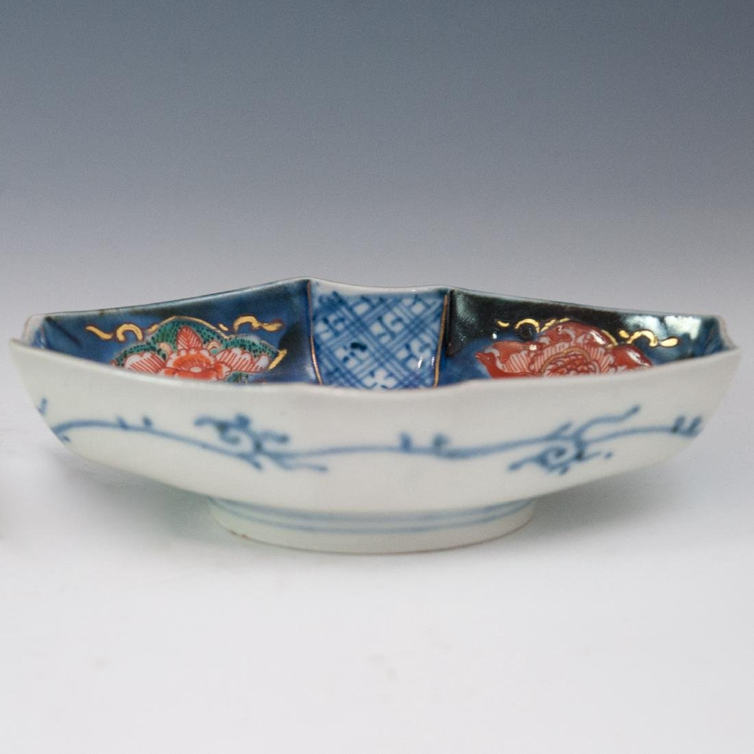 Japanese Enameled Imari Bowl - 3