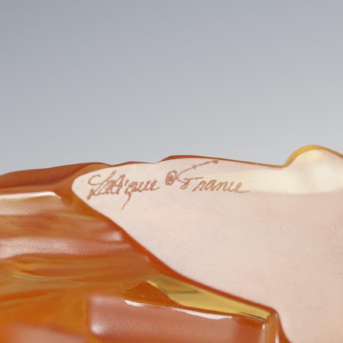 "Lalique Crystal ""Rearing Kazak"" Horse - 3"