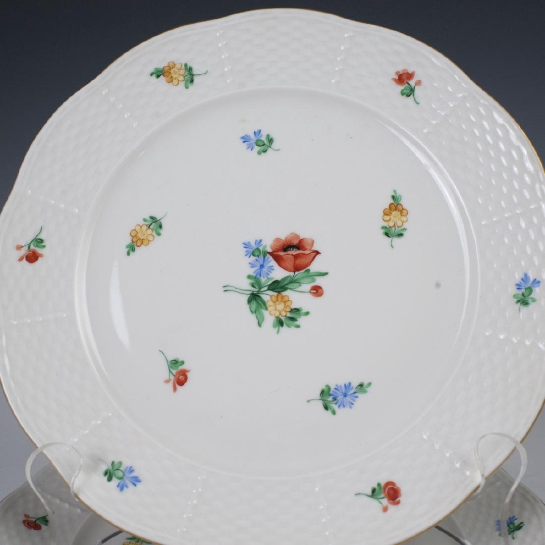 Herend Luncheon Plates - 4