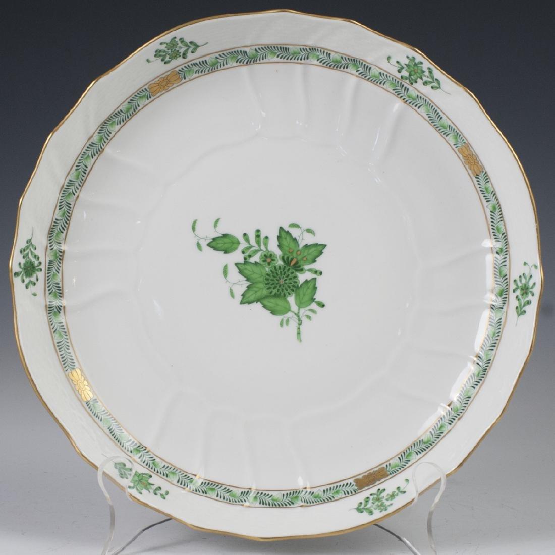 "Herend ""Apponyi Verte"" Vegetable Bowl"