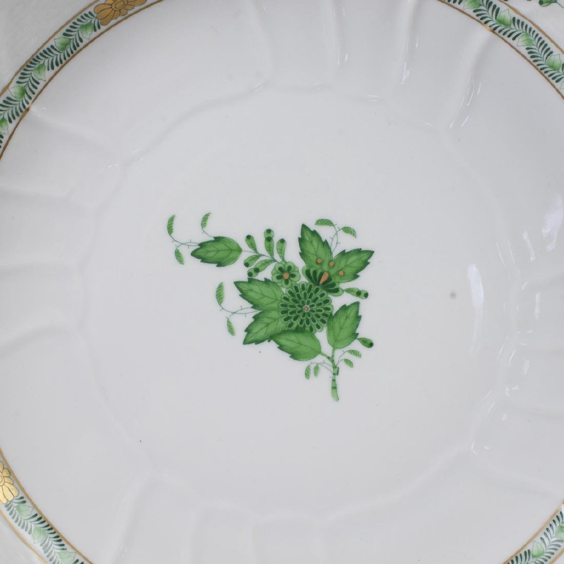 "Herend ""Apponyi Verte"" Vegetable Bowl - 4"