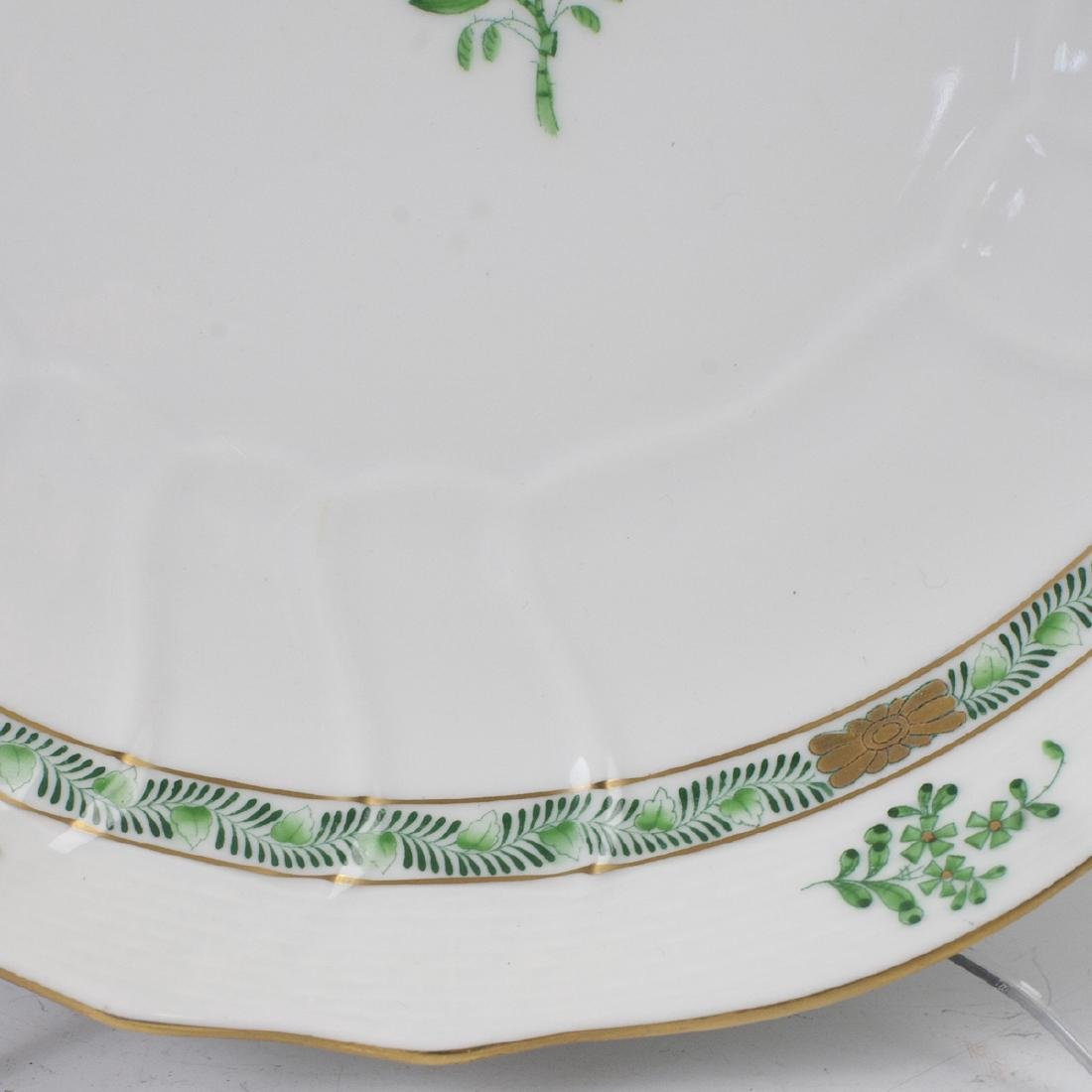 "Herend ""Apponyi Verte"" Vegetable Bowl - 5"