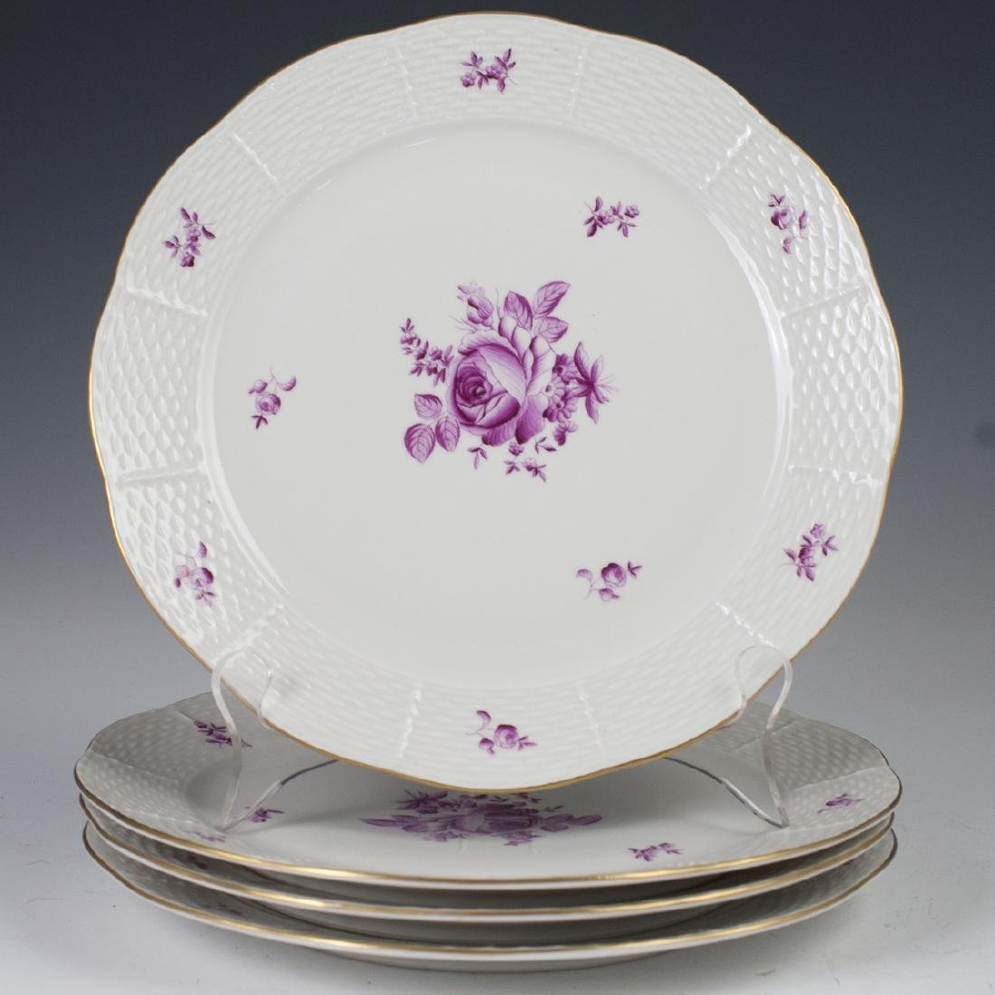 Herend Porcelain Dinner Plates