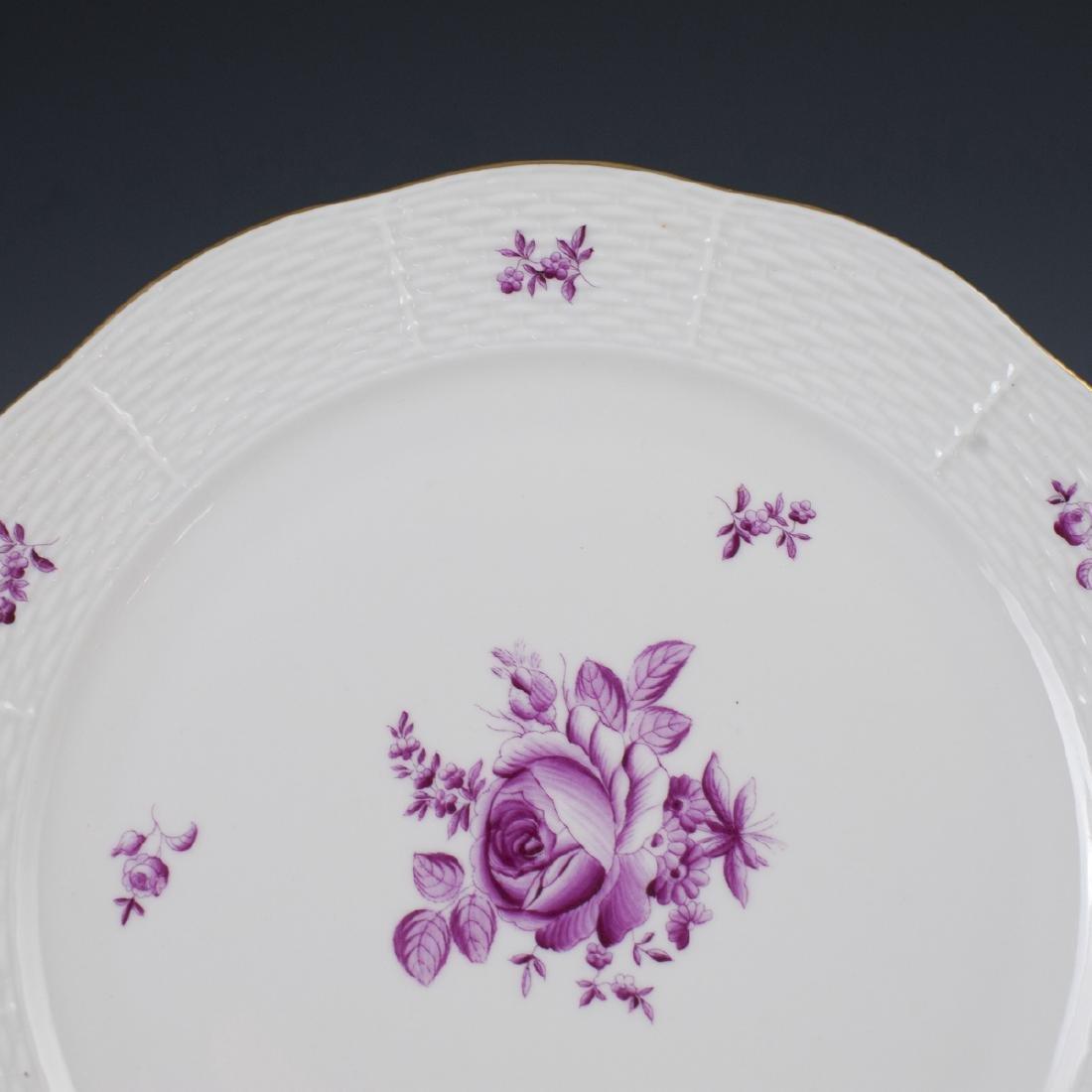 Herend Porcelain Dinner Plates - 2