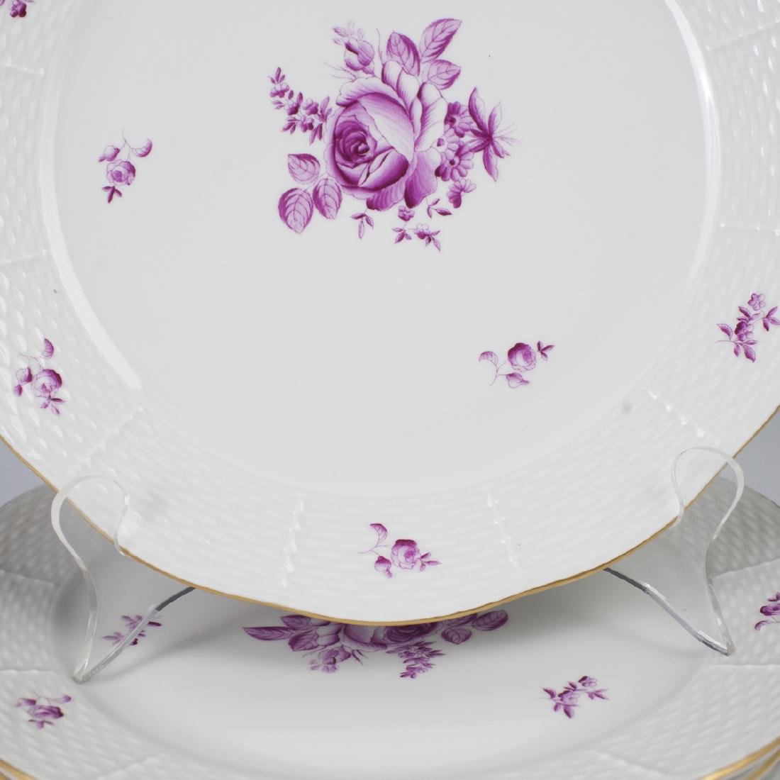 Herend Porcelain Dinner Plates - 3