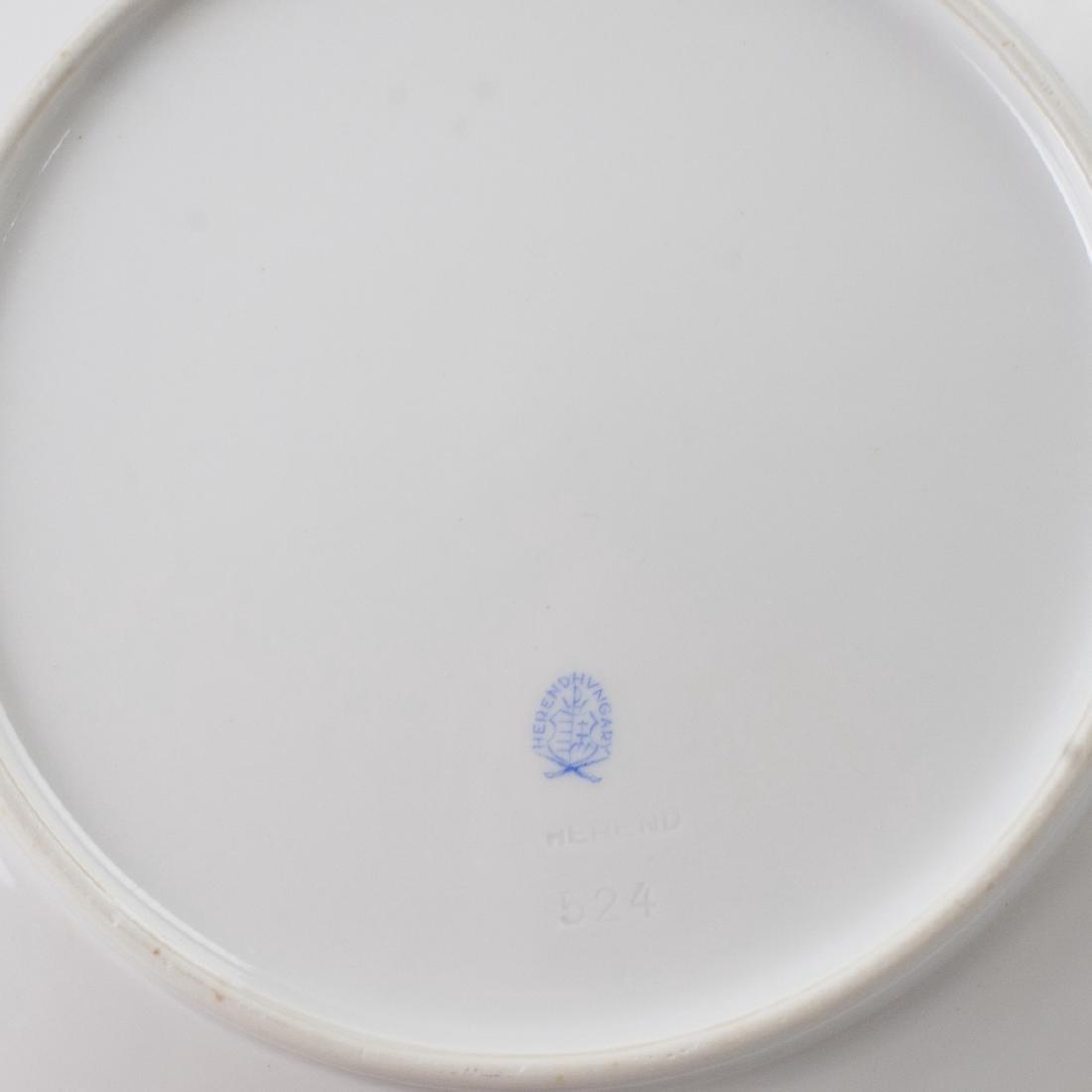Herend Porcelain Dinner Plates - 5