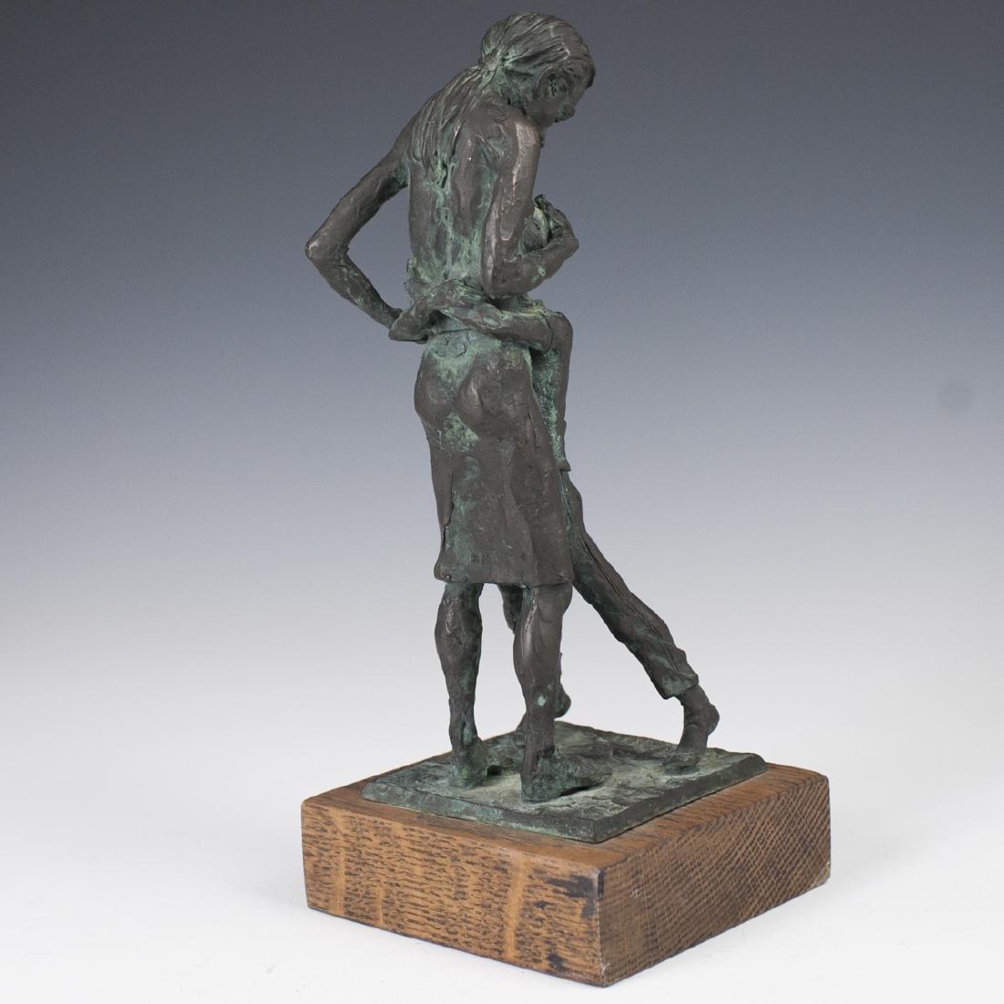 Howard Garnitz Bronze Sculpture - 4
