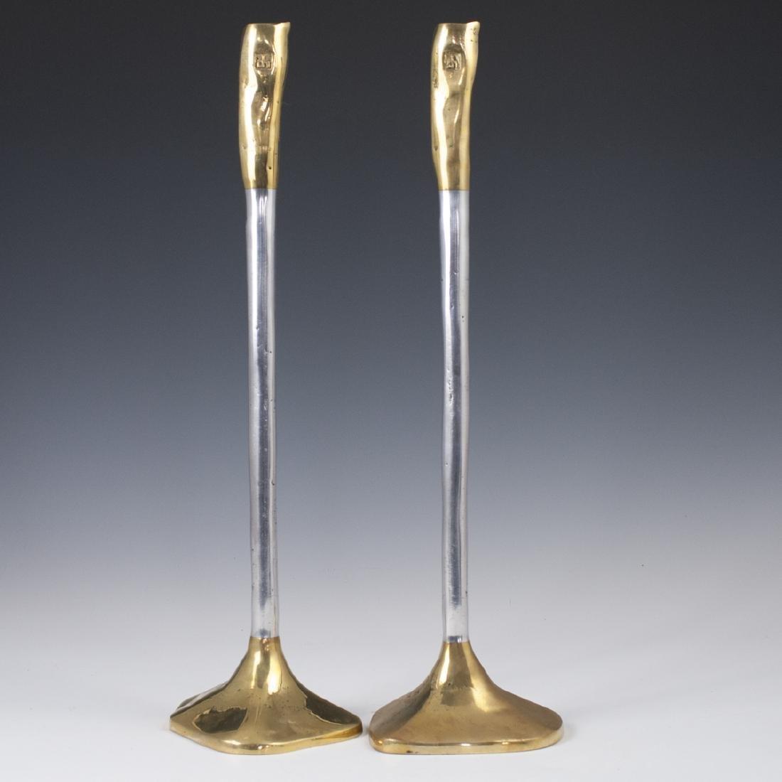 "David Marshall ""Medieval III"" Candlesticks"