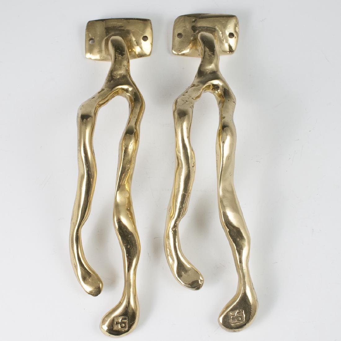 David Marshall Brass Towel Hangers