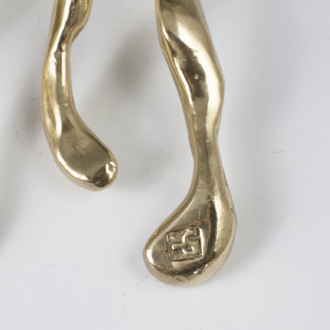 David Marshall Brass Towel Hangers - 2