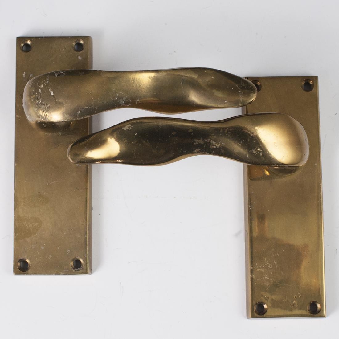 David Marshall Brass Door Knobs