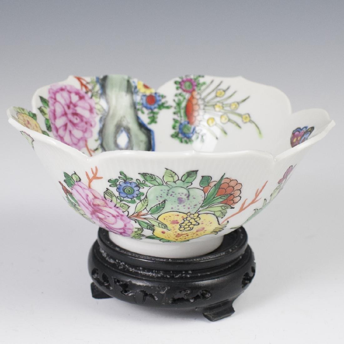 Oriental Objects D'Art Porcelain Bowl