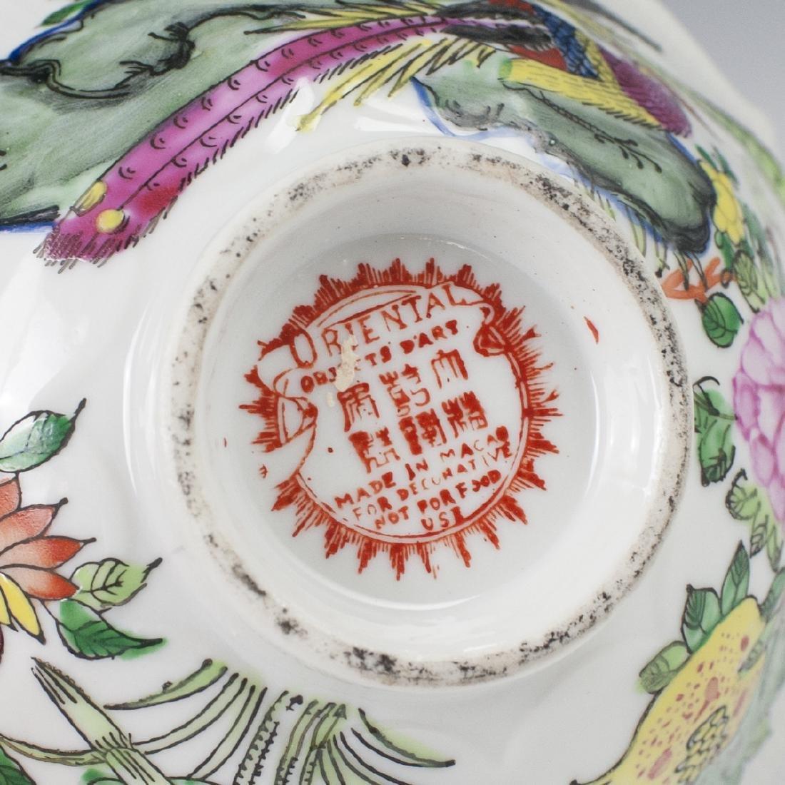 Oriental Objects D'Art Porcelain Bowl - 3