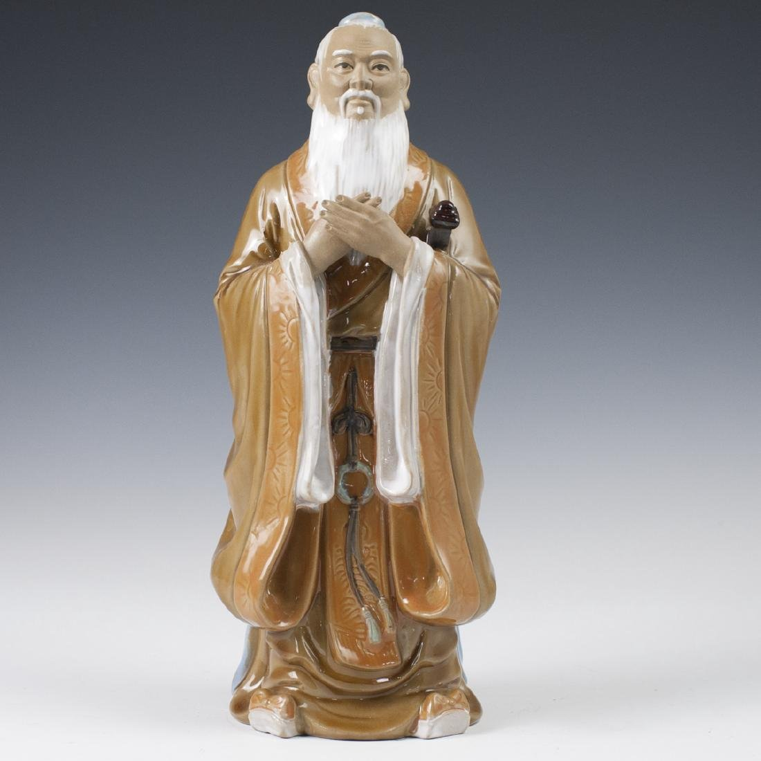 Chinese Glazed Ceramic Mudmen Figurines - 3