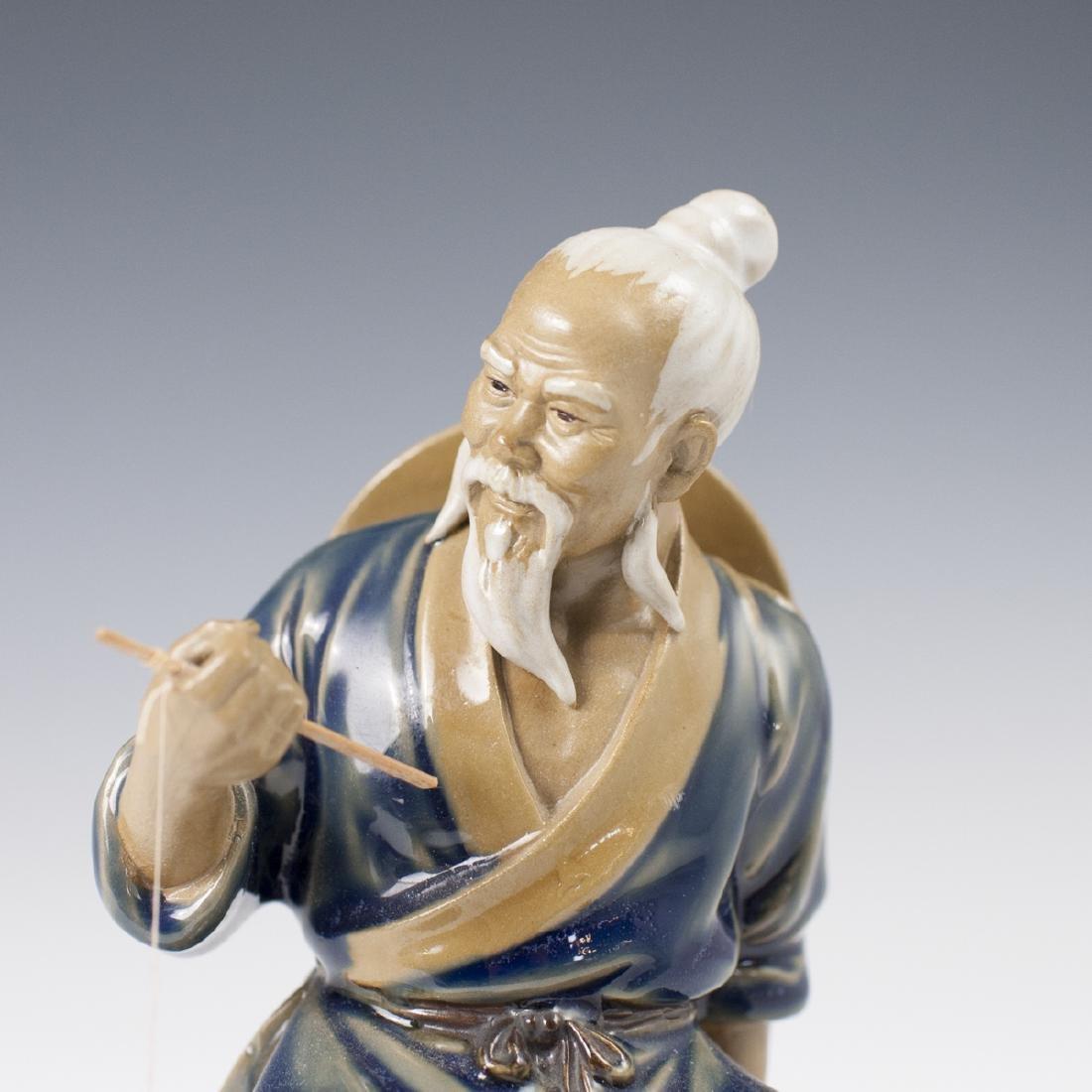 Chinese Glazed Ceramic Mudmen Figurines - 4
