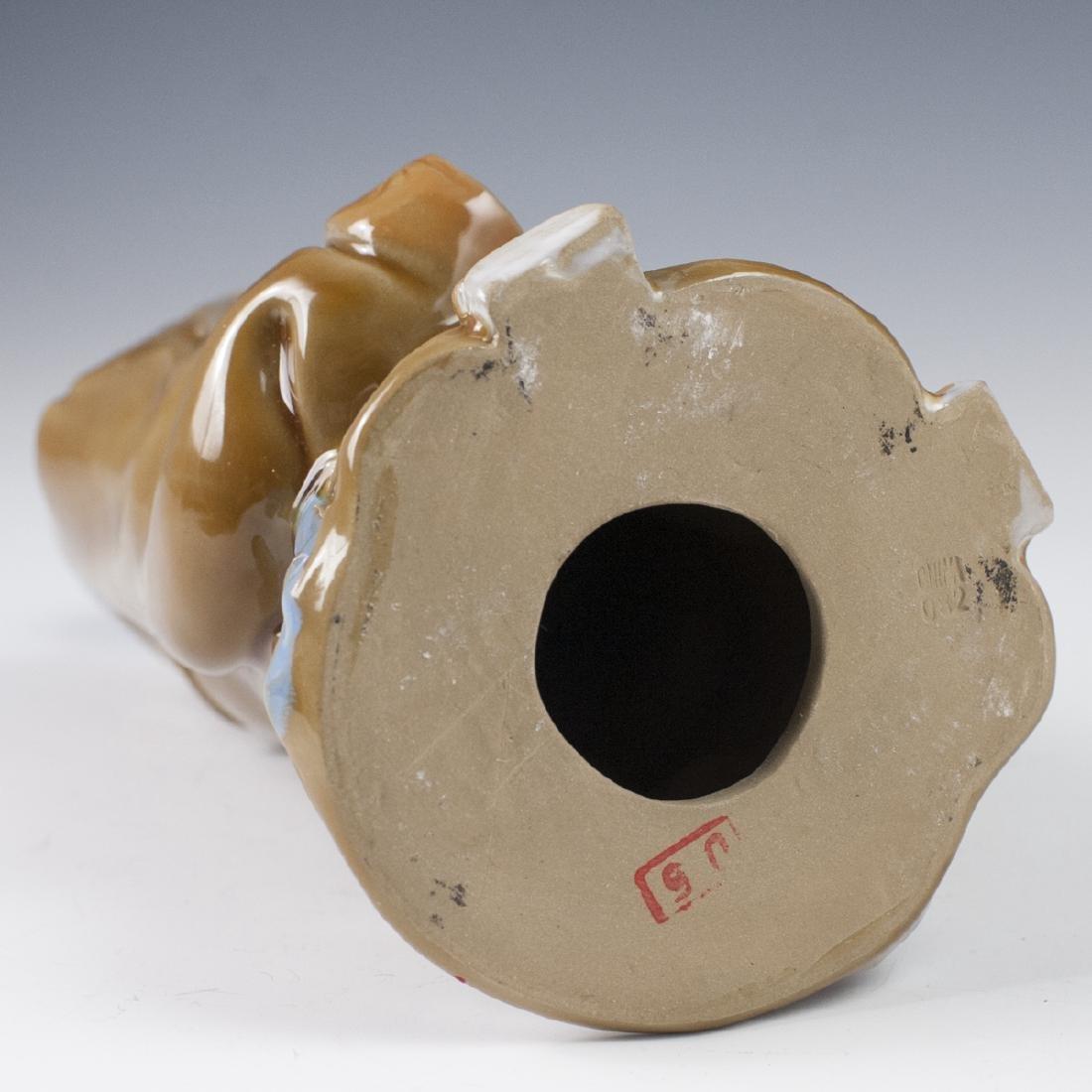 Chinese Glazed Ceramic Mudmen Figurines - 7