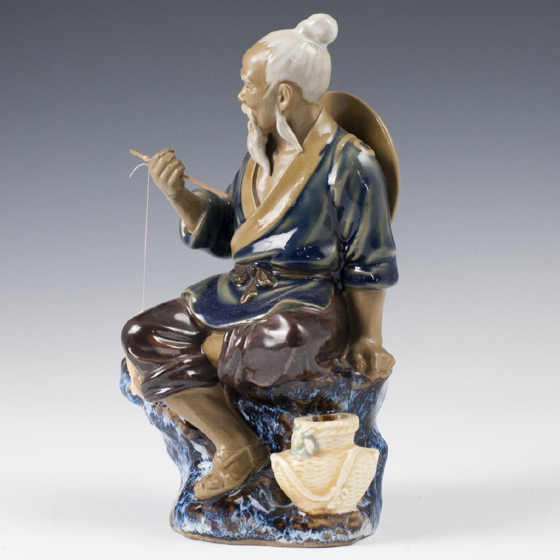 Chinese Glazed Ceramic Mudmen Figurines - 8