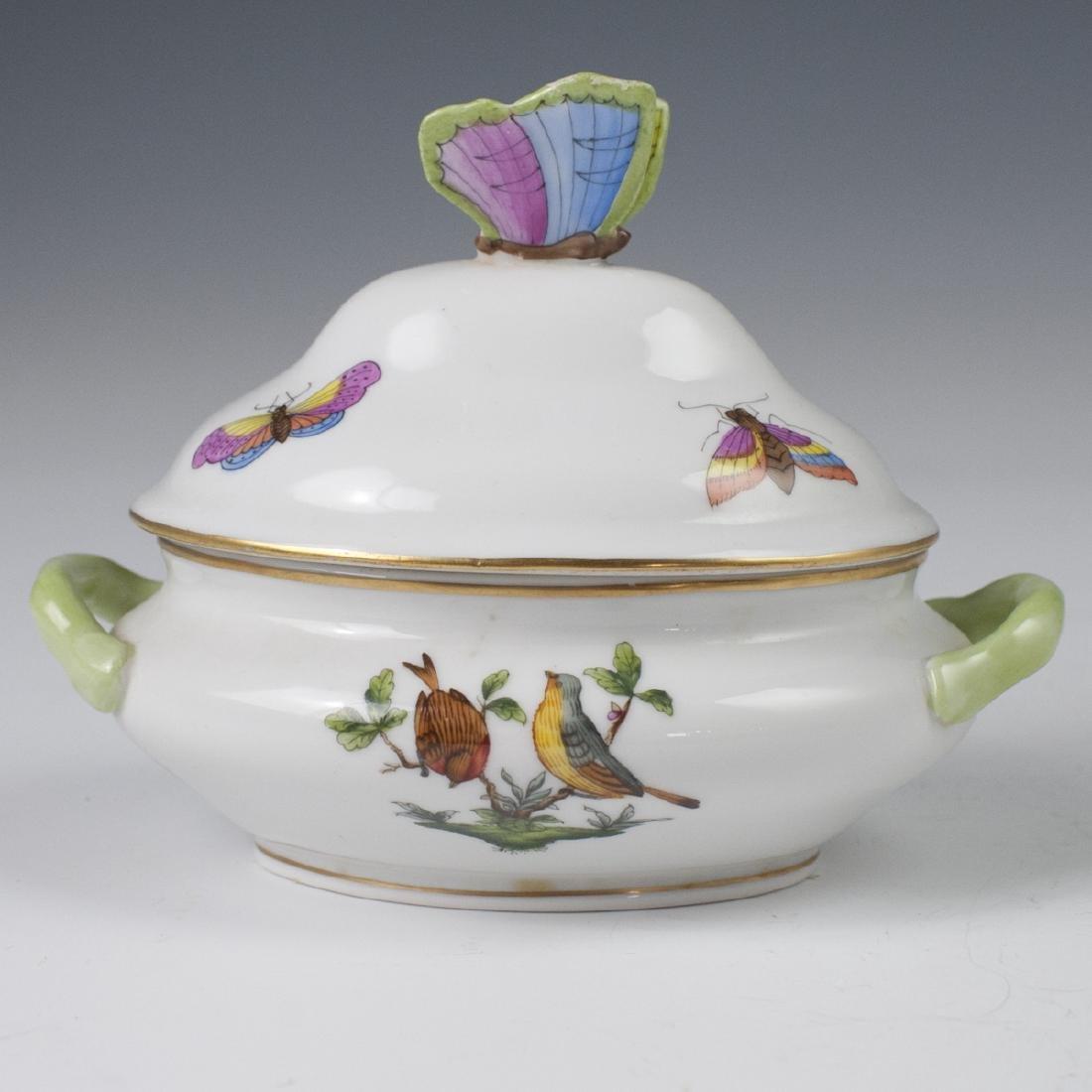 "Herend Porcelain ""Rothschild"" Mini Tureen"