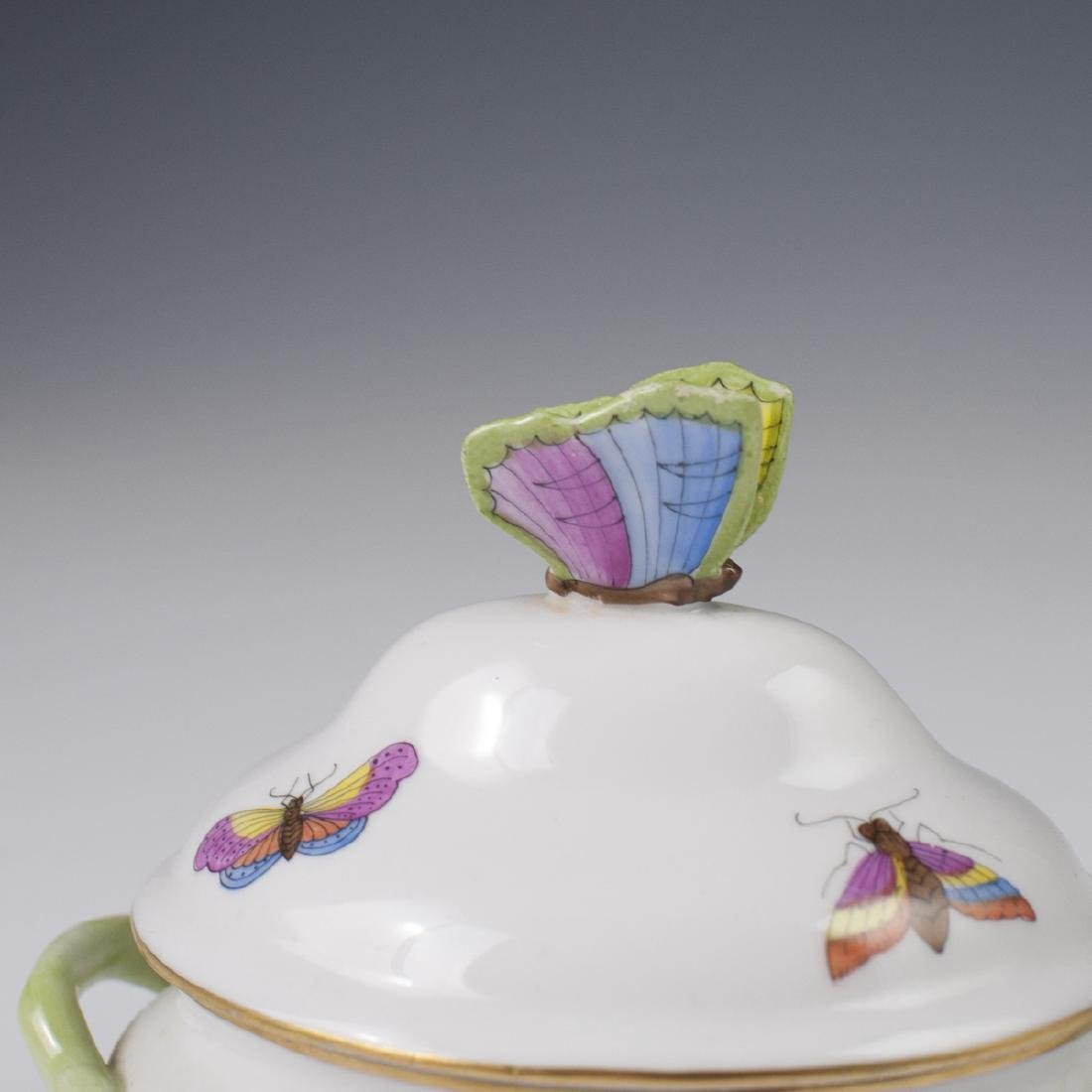 "Herend Porcelain ""Rothschild"" Mini Tureen - 4"