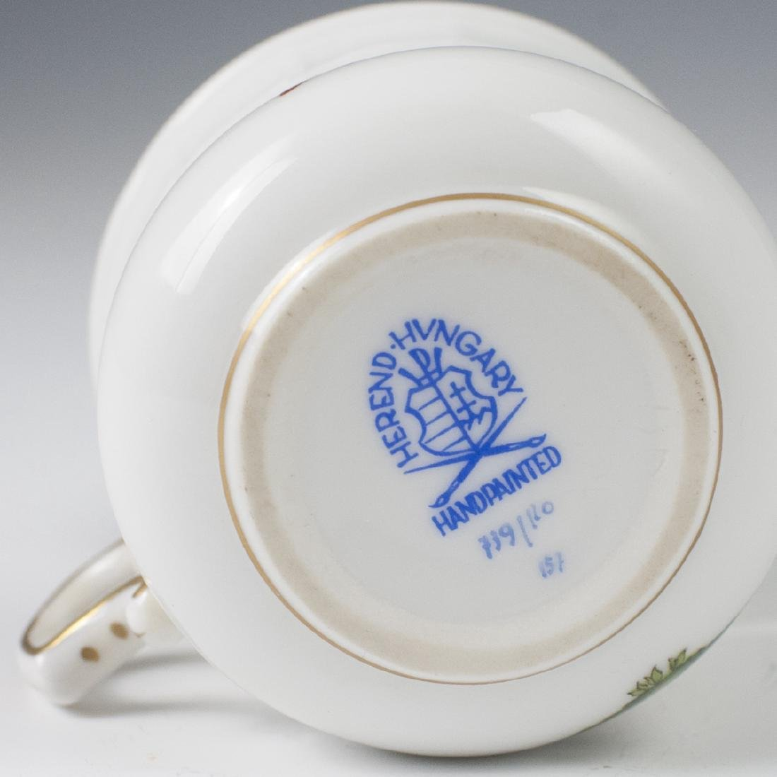 "Herend Porcelain ""Rothschild"" Pot De Creme - 3"