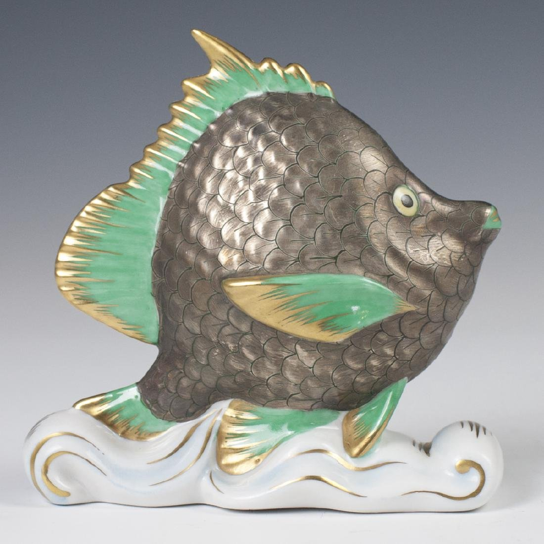 """Herend Porcelain """"Tropical Fish"""""""