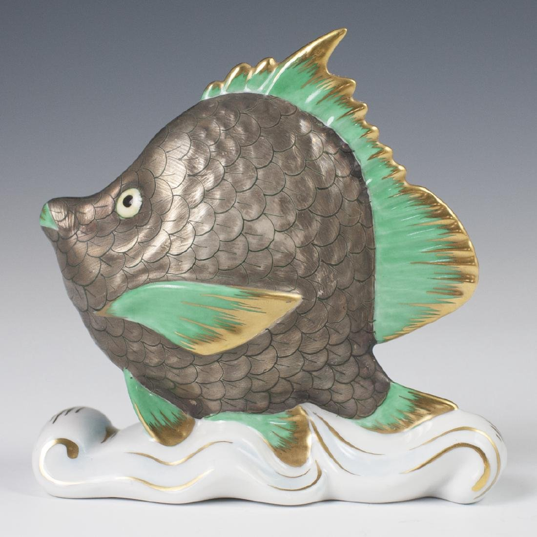 "Herend Porcelain ""Tropical Fish"" - 2"