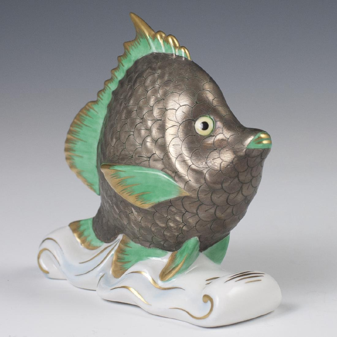 "Herend Porcelain ""Tropical Fish"" - 4"