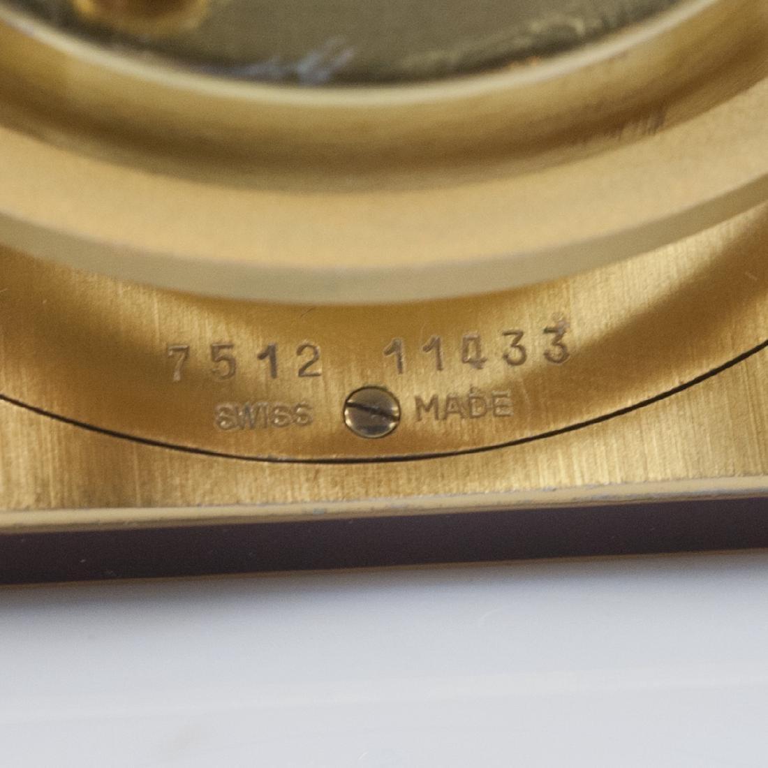 """Cartier """"Vendome"""" Travel Clock - 3"""