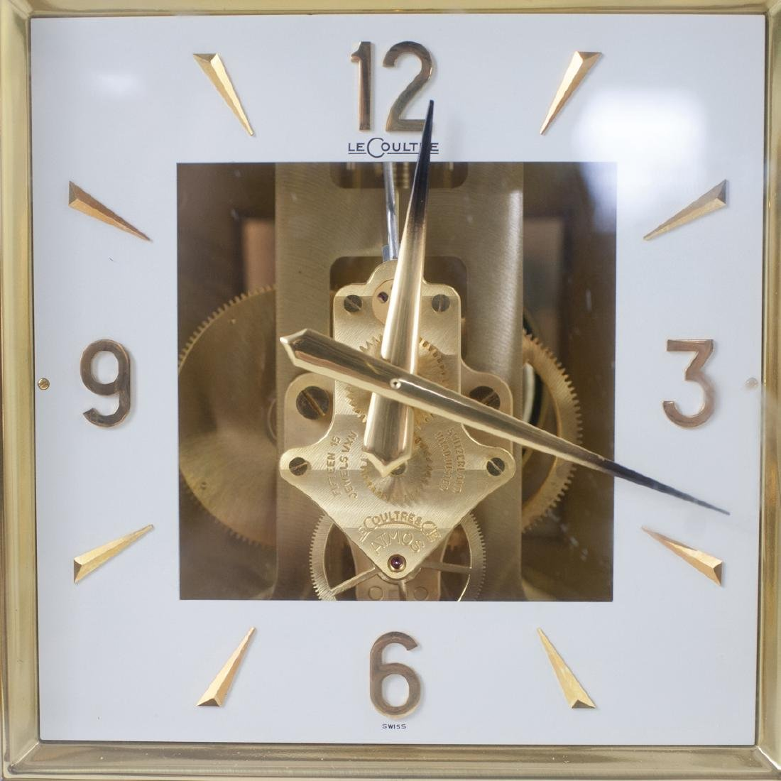 Jaeger LeCoultre Brass Atmos Clock - 2