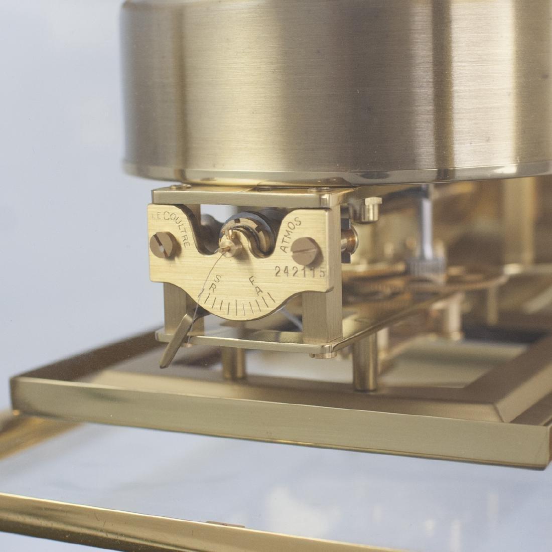 Jaeger LeCoultre Brass Atmos Clock - 5