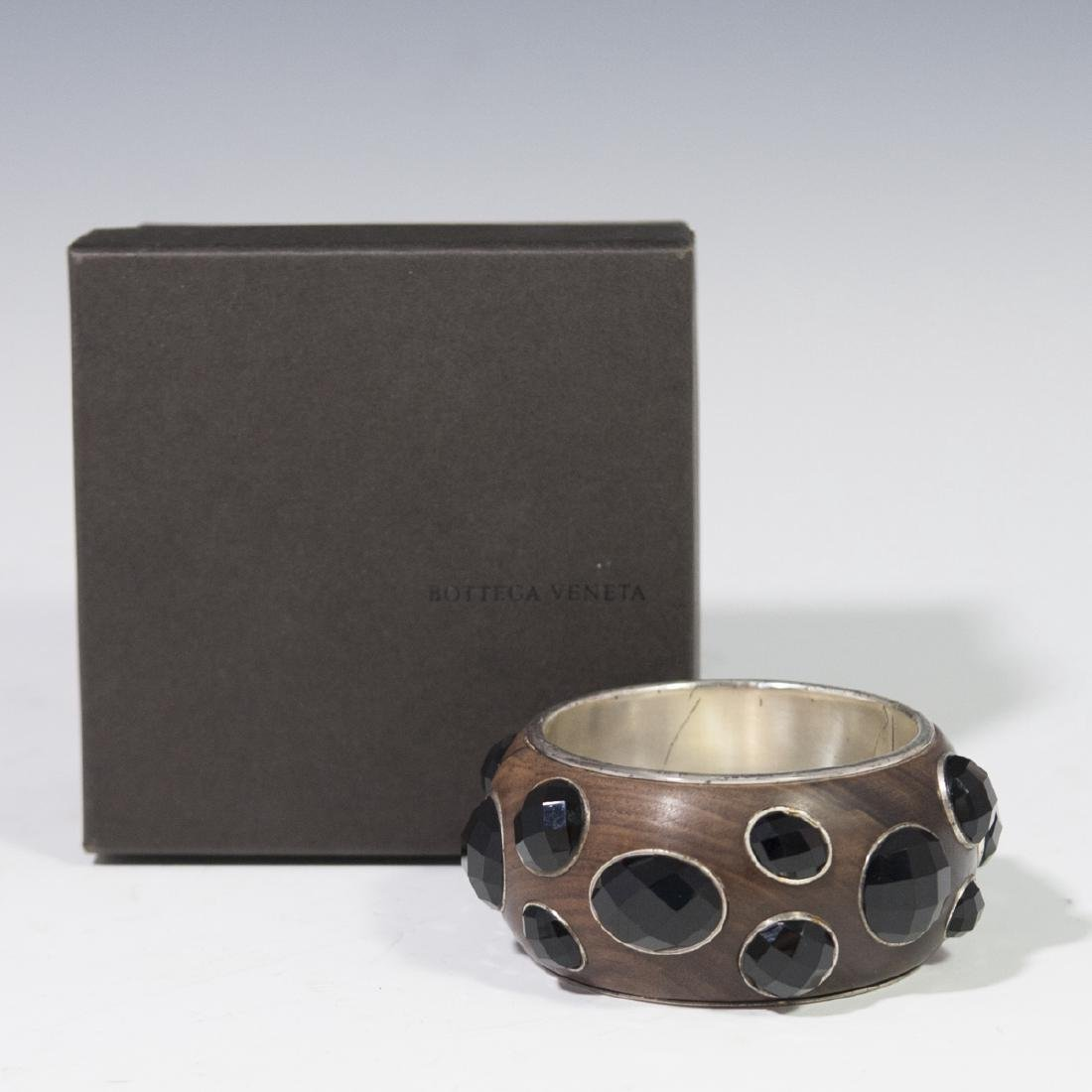 Bottega Veneta Sterling Bangle Bracelet