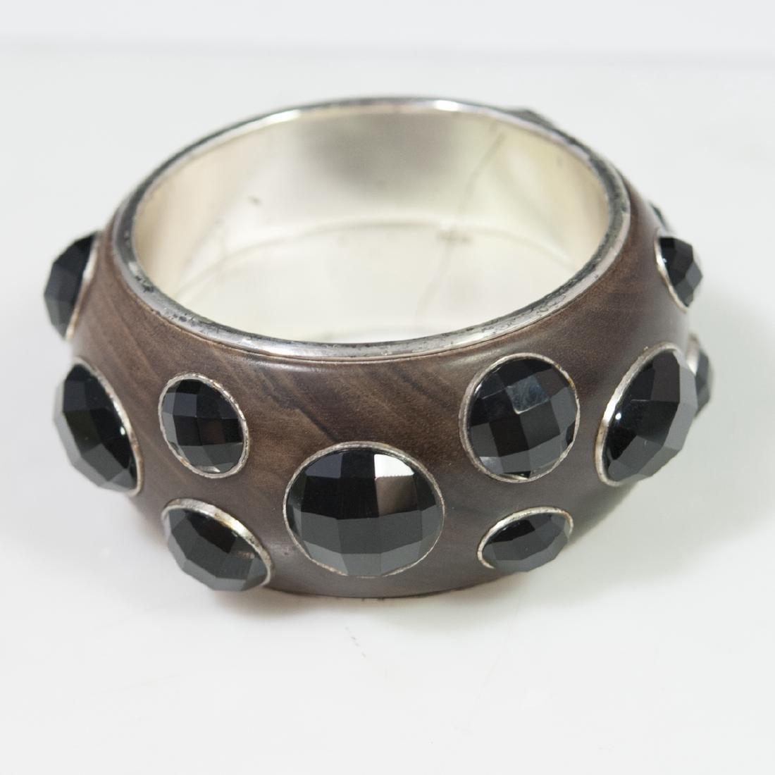 Bottega Veneta Sterling Bangle Bracelet - 4