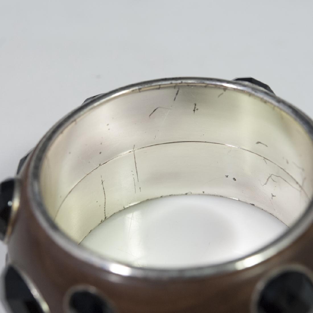 Bottega Veneta Sterling Bangle Bracelet - 5
