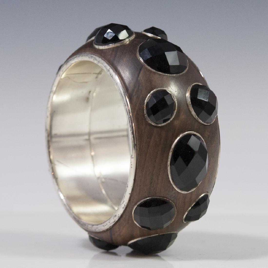 Bottega Veneta Sterling Bangle Bracelet - 6