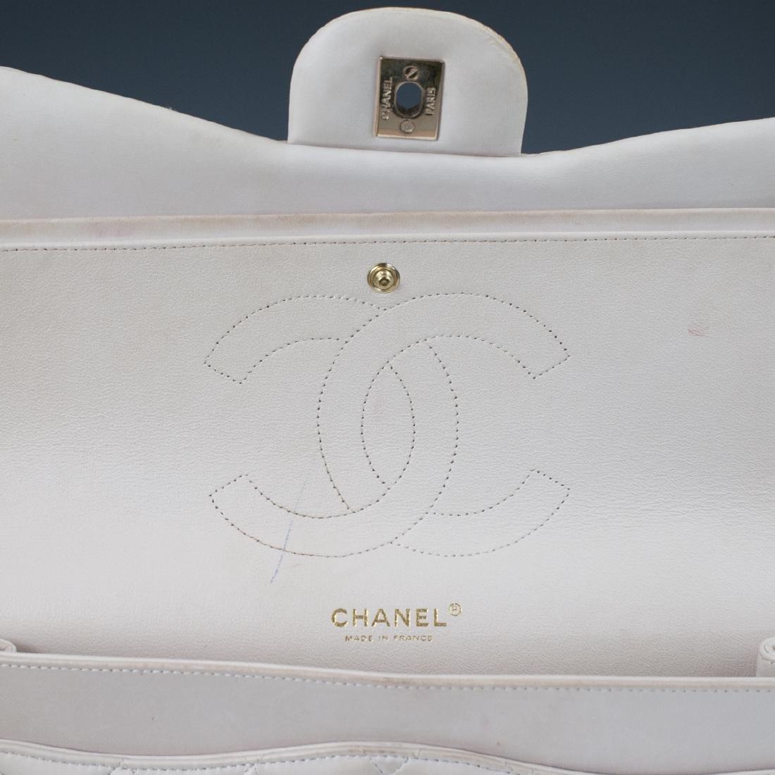 Chanel Light Beige Calfskin Flap Bag - 2