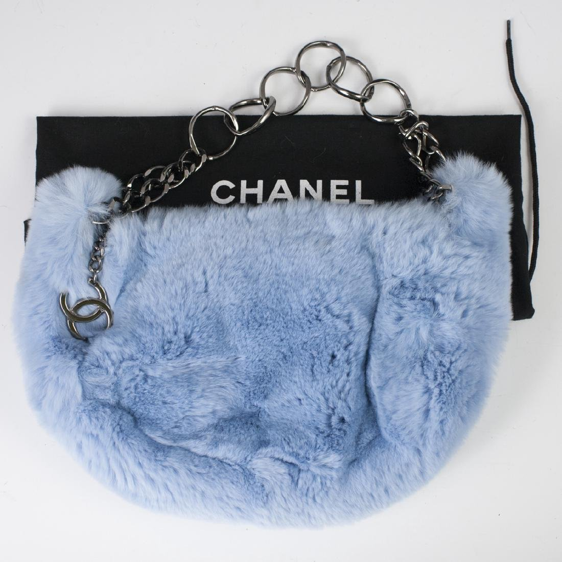 Chanel Rabbit Fur Hobo Bag