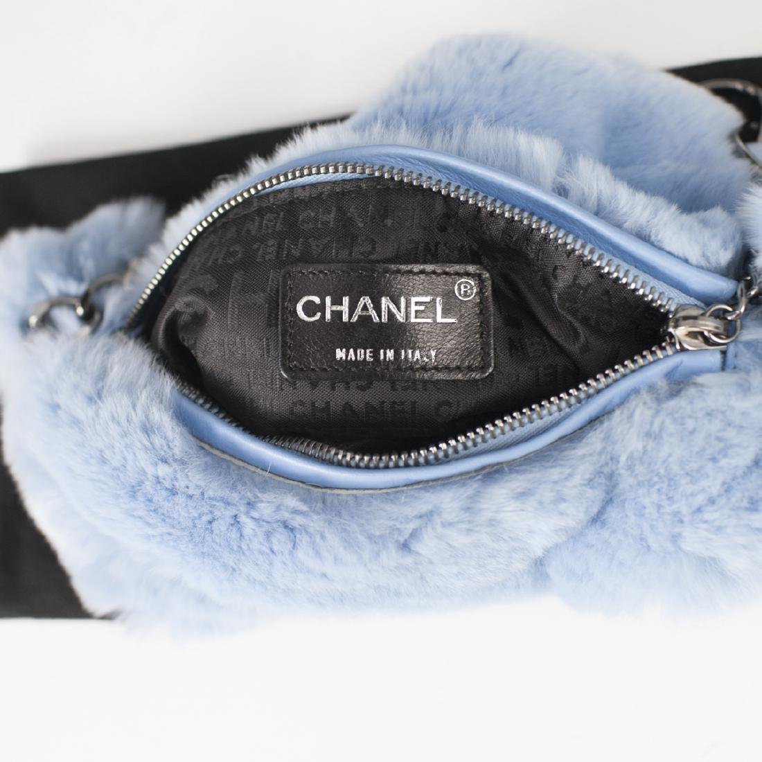 Chanel Rabbit Fur Hobo Bag - 2