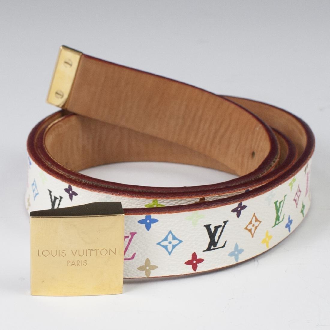 Louis Vuitton Canvas Multicolore Belt