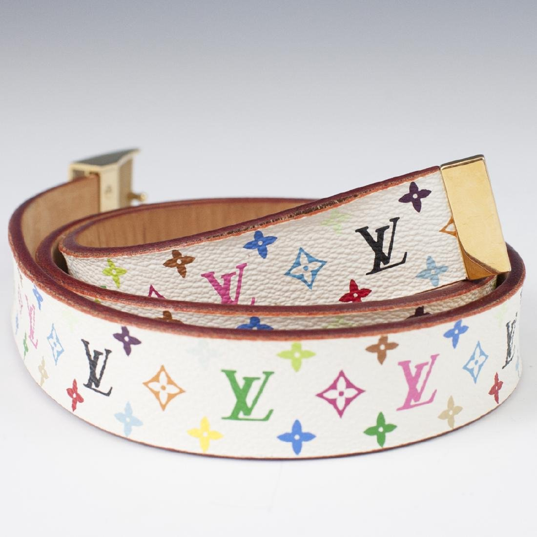 Louis Vuitton Canvas Multicolore Belt - 4