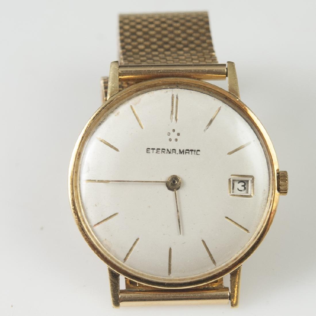 Eterna Matic 18kt Yellow Gold Watch