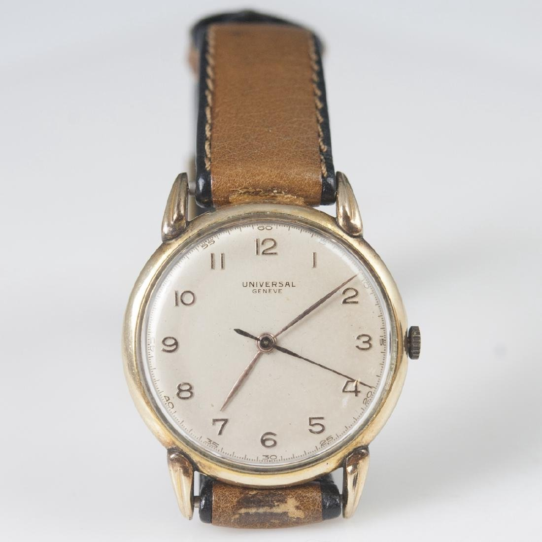 Vintage Universal Geneve Gold Plated Watch